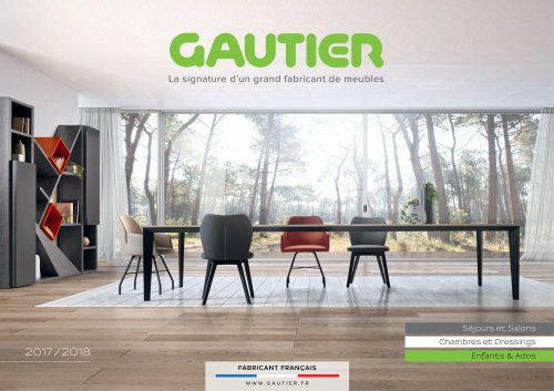 Catalogue 2018 Gautier Catalogue Pdf Documentation Brochure