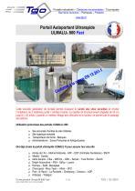 PORTAIL ULTRARAPIDE ULMALU® 800 FAST 4 A 8 M