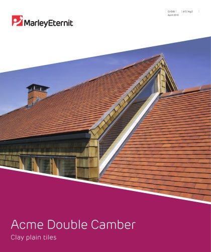 Acme Double Camber Clay Plain Tiles