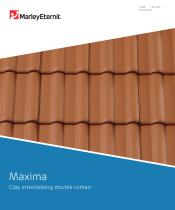 Maxima Clay interlocking double roman