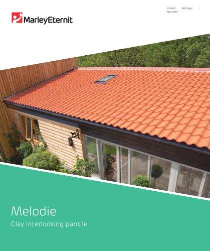 Melodie Clay interlocking pantile