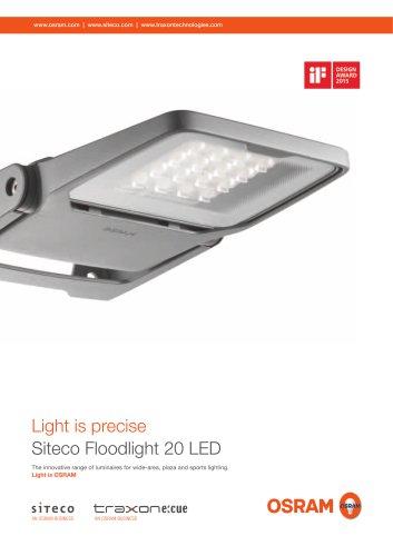 Floodlight 20 LED family