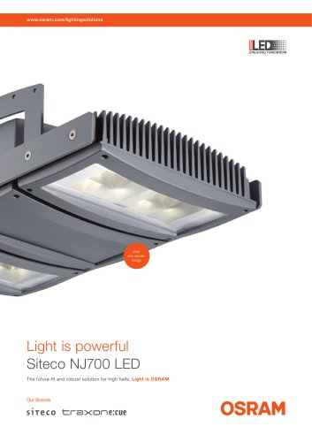 Light is powerful Siteco NJ700 LED