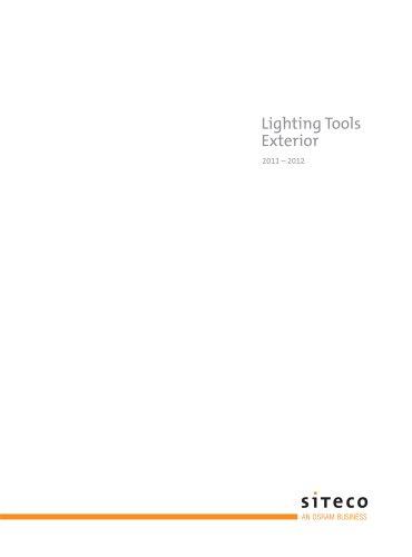 Lighting Tools Exterior 2011/2012