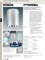 Luminaires compacts pour montage en saillie et en suspension - 11
