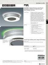 Luminaires compacts pour montage en saillie et en suspension - 8