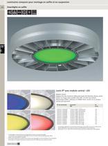 Luminaires compacts pour montage en saillie et en suspension - 9