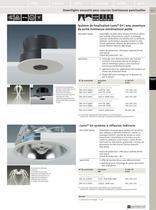 Luminaires encastrés compacts - 12