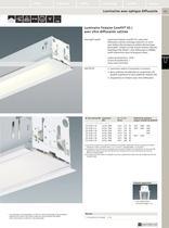 Luminaires fluorescents linéaires encastrés pour plafond - 10