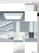 Luminaires fluorescents linéaires encastrés pour plafond - 2