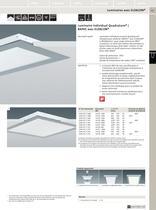 Luminaires fluorescents linéaires encastrés pour plafond - 6