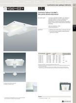 Luminaires fluorescents linéaires encastrés pour plafond - 8