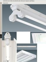 Luminaires avec indice de protection plus élevé pour exigences spécifiques - 1