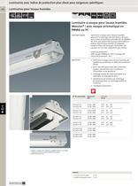 Luminaires avec indice de protection plus élevé pour exigences spécifiques - 9