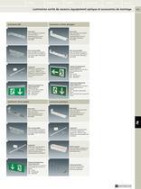 Luminaires de sécurité et composants, luminaires de signalisation - 10