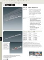 Luminaires de sécurité et composants, luminaires de signalisation - 11