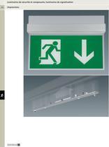 Luminaires de sécurité et composants, luminaires de signalisation - 1