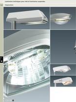 Luminaires techniques pour mât et luminaires suspendus - 1