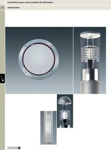 Luminaires pour zones proches de bâtiments