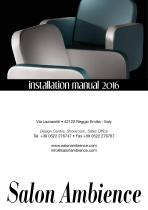 Salon Ambience Tecnical Manual 2016
