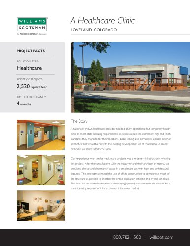 A Healthcare Clinic