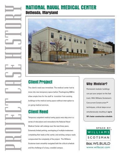 NATIONAL NAVAL MEDICAL CENTER - Bethesda, Maryland