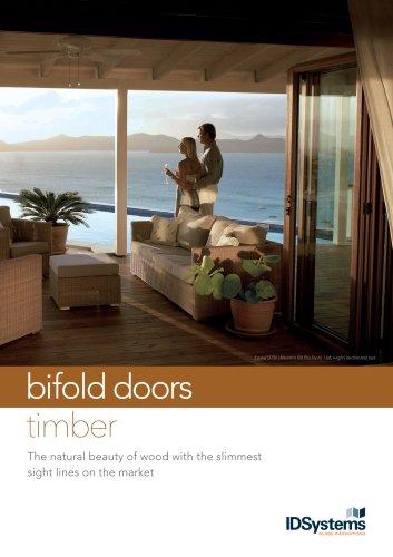 bifold door timber