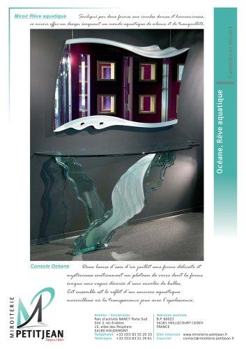 Consoles et miroirs  Océane