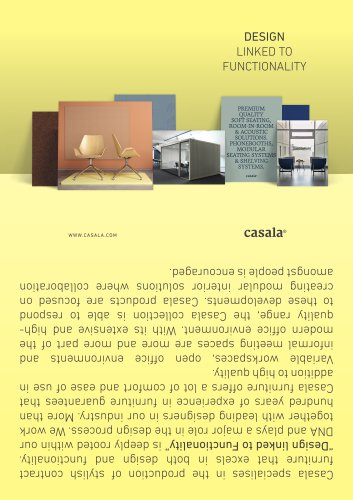 Casala product overview