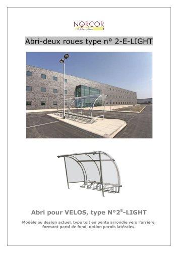 Abri-deux-roues 2E-LIGHT