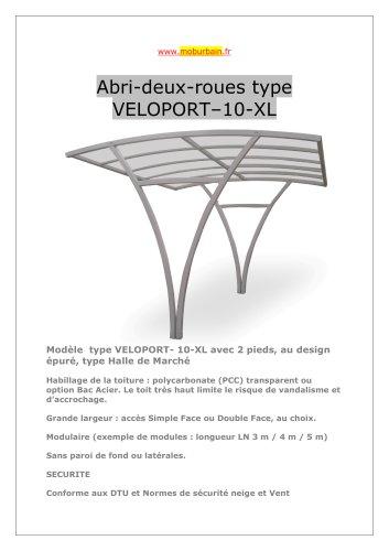 """abri pour vélos grande hauteur """" VELOPORT"""""""