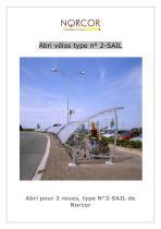 Abri vélos type 2E-SAIL