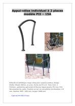 appui-vélos type PI