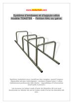 Appuis-vélos type TOASTER - BREEAM - HQE