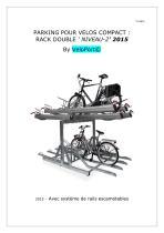 VELOPORT - garage des vélos en duplex (2 niveaux)