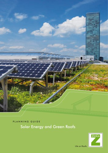 Solar Energy and Green Roofs