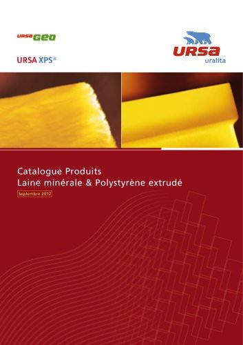 Catalogue Produits Laine minérale & Polystyrène extrudé 2012