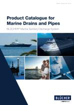 Product Catalogue for Marine Drains and Pipes