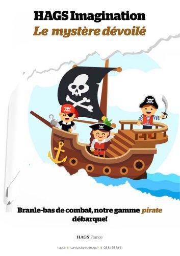Gamme thématique pirate