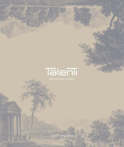 Talenti OUTDOOR LIVING Accesories