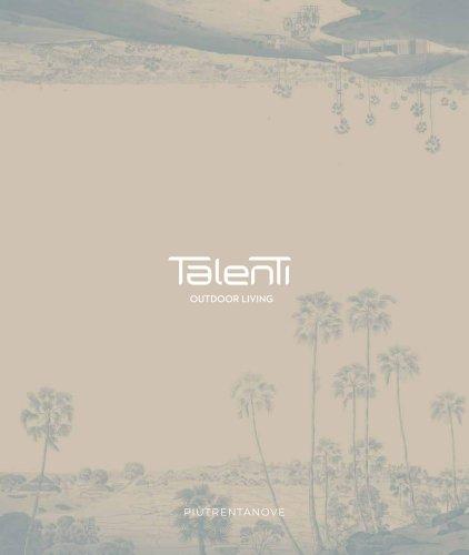 Talenti OUTDOOR LIVING PIÙTRENTANOVE