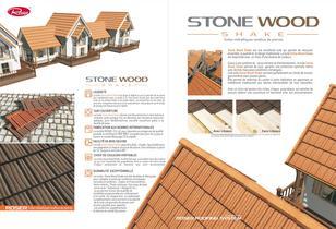 Tuile acier de Montagne -Stone Wood Shake - 2