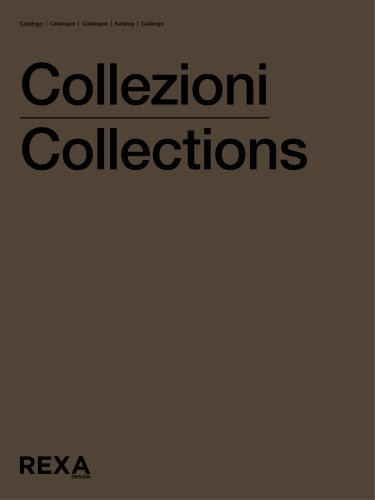 COLLECTIONS CATALOGUE