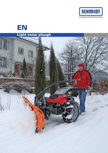 EN - Light snow plough