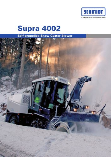 Automotive snow clearing:Supra 4002