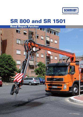 Road repair patchers:SR 800 & SR 1501