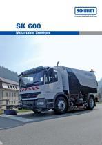 SK 600 Mountable Sweeper