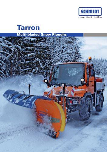 Tarron - Multi-bladed snow ploughs