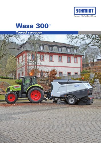 Towed sweepers:Wasa 300+ - Towed sweeper
