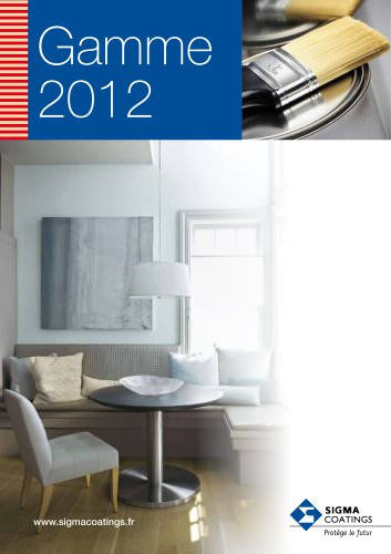 Gamme  2012